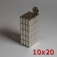 Неодимовый магнит 10х20